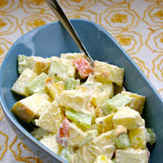 Apple, Celery, and Horseradish Salad
