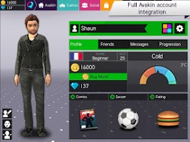 Screenshot of Avakin Poker - 3D Social Club