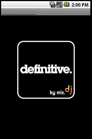 Definitive by mix.dj