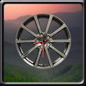Sport Wheel Clock Widget icon