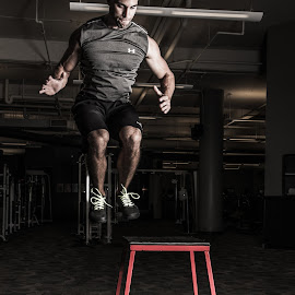 Box Jump by Nezar Yaggey - Sports & Fitness Fitness
