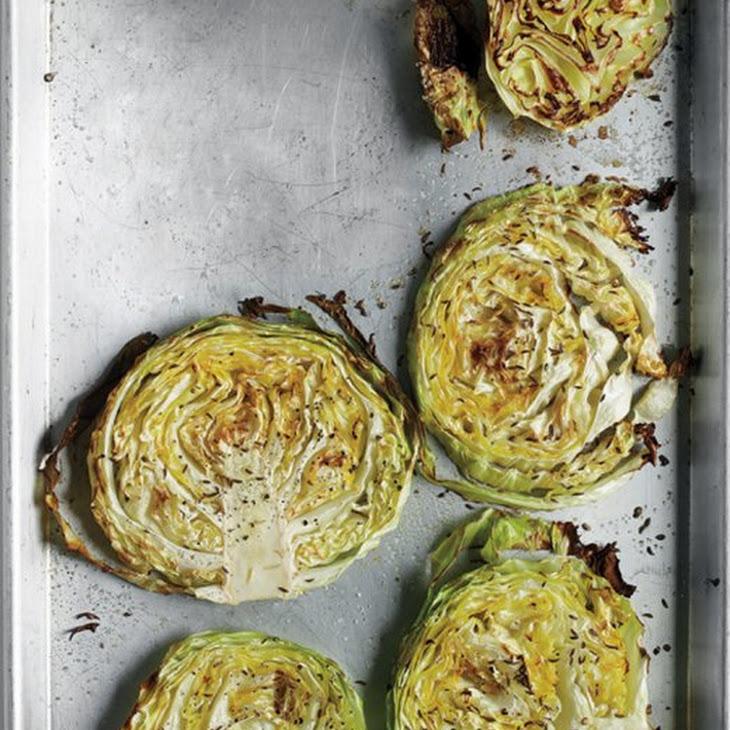 Roasted Cabbage Wedges Recipe   Yummly