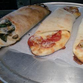 Quick Sausage and Bell Pepper Calzones