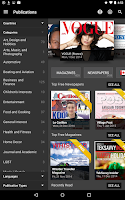 Screenshot of PressReader