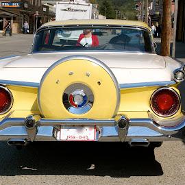 Skagway, Alaska by Kathleen Koehlmoos - Transportation Automobiles ( classic cars, vintage cars, classic ford, alaska, old ford, skagway, old cars, skaway alaska )