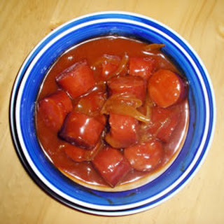 Slow Cooker Sweet and Sour Kielbasa