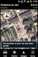 Screenshot of CarDroid Locator