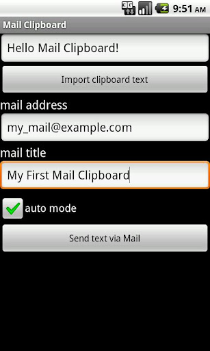 Mail Clipboard