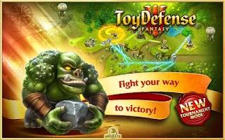 Screenshot of Toy Defense 3: Fantasy Free
