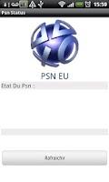 Screenshot of Psn Status