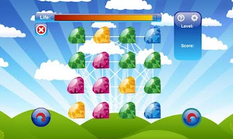 Screenshot of Magic Jewels
