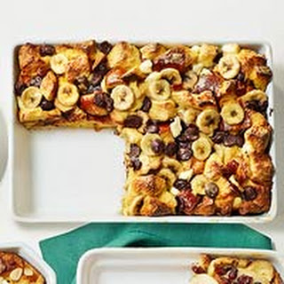 Banana-Chocolate Chip Strata