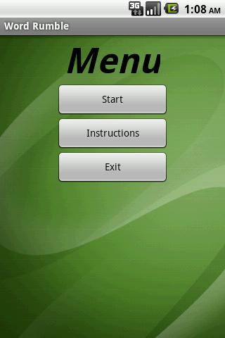 【免費解謎App】Word Rumble-APP點子