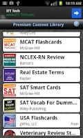Screenshot of gFlash+ Flashcards & Tests