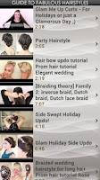 Screenshot of Guide to Fabulous Hairstyles