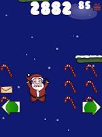 Screenshot of Doodle Santa - Christmas Jump