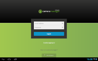 Screenshot of Cameramanager