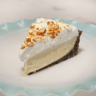 Butterscotch Cream Pie with Gingersnap Crust