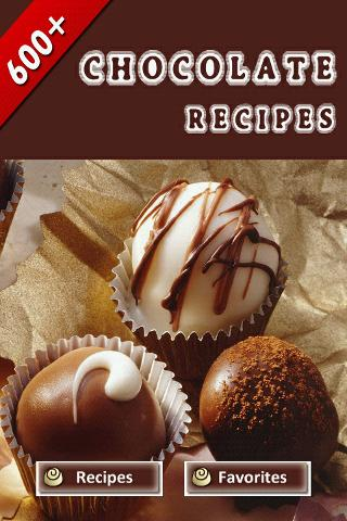 600+ Chocolate Recipes