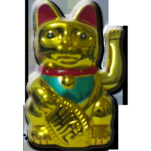 Livewallpaper fortune cat 個人化 App LOGO-APP試玩