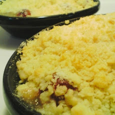 Pear and Sultana Crumble