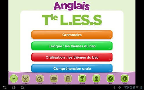 ExoNathan BAC Anglais Term - screenshot
