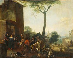 RIJKS: manner of Pieter Bodding van Laer: painting 1650