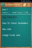 Screenshot of Attendance Tracker (Students)