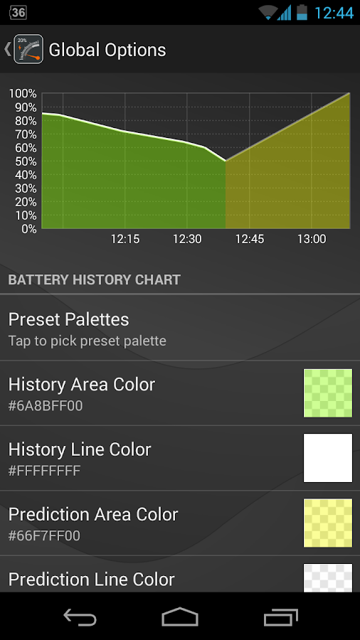 Gauge Battery Widget 2016 Screenshot 4