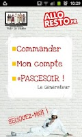 Screenshot of ALLORESTO.fr
