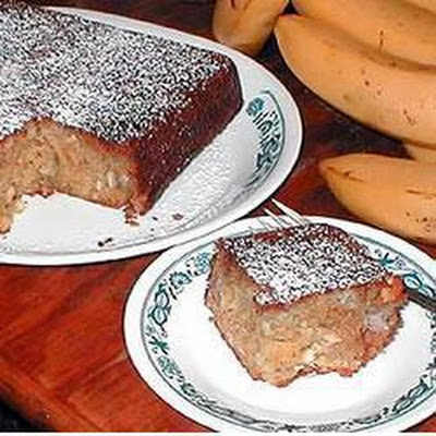 Tropical Cake with Pecans