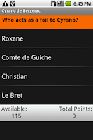 Screenshot of Cyrano de Bergerac