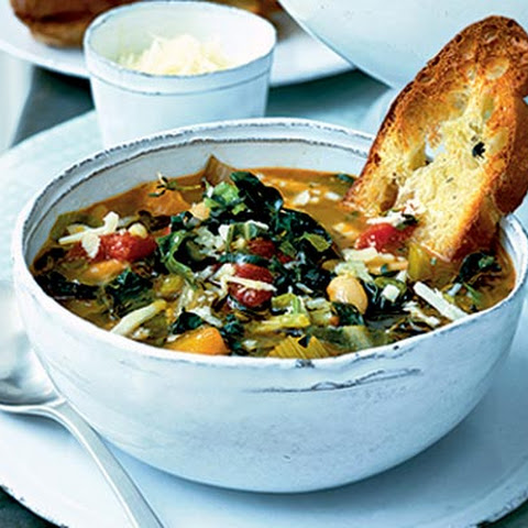 gluten free winter minestrone with swiss chard and sausage swiss chard ...