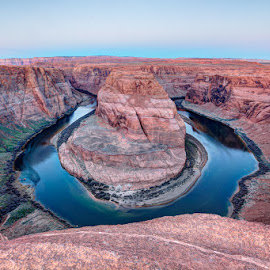 Horseshoe Bend by Jim Schmedding - Novices Only Landscapes