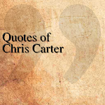 Quotes of Chris Carter APK Image