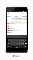 Screenshot of AIDE IDE for PhoneGap/Cordova