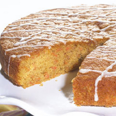 Ginger Glazed Carrot Cake