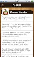 Screenshot of São João Campina Grande 2012