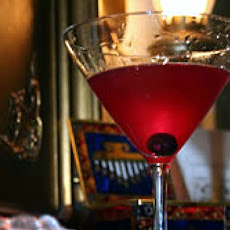 Blueberry Vodka Martinis