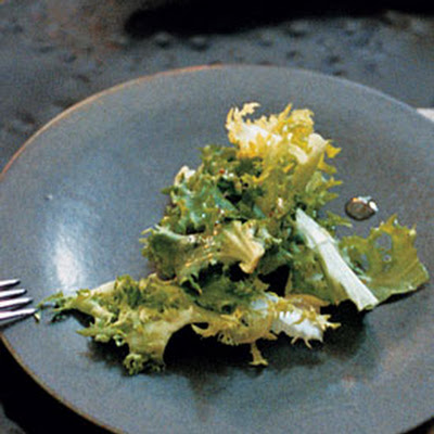 Endive and Chicory Salad with Grainy Mustard Vinaigrette