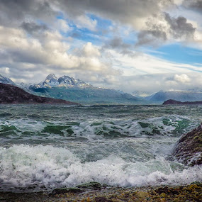 End of the World by Paul Runze - Landscapes Waterscapes ( 2014 so america, family, beagle x channel x chile x cape horn )