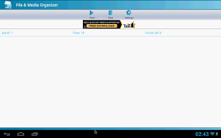 Screenshot of File & Media Organizer