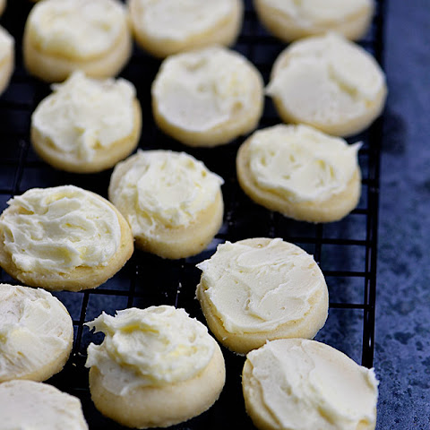Key Lime Shortbread Cookies