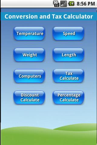 Conversion and Tax Calculator