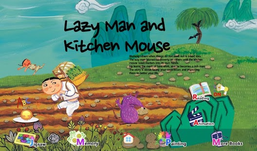 Lazy Man and Kitchen Mouse - screenshot