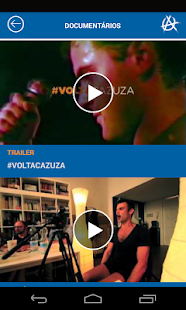 #voltacazuza - screenshot