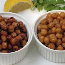 Roasted Chick Peas Two Ways