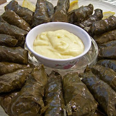 Stuffed Grape Leaves (With Meat)