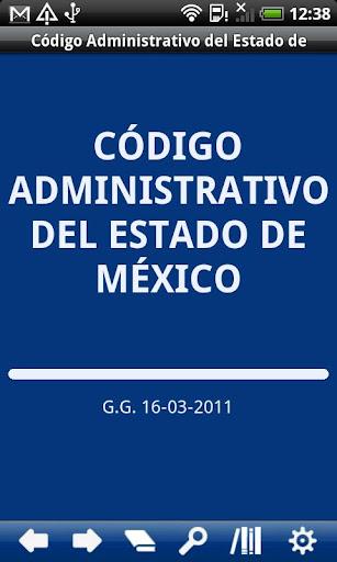 Código Administrativo del E.M.