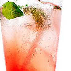 Pink Grapefruit and Basil Mojito Mocktail